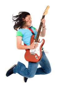 Teenager-Guitar